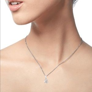NIB Diamond Knot Necklace